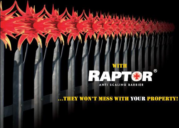 Raptor Last Word In Fencing Security